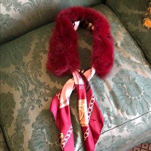 Fashion Dollz Fur Collar with Detachable Scarf